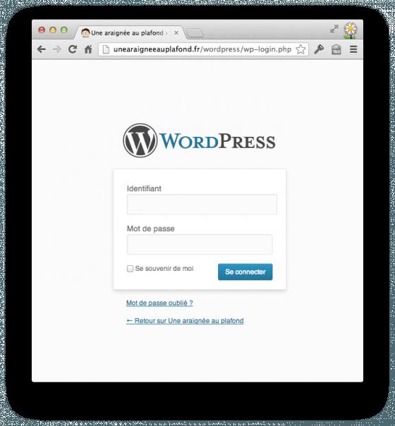WordPress (login)