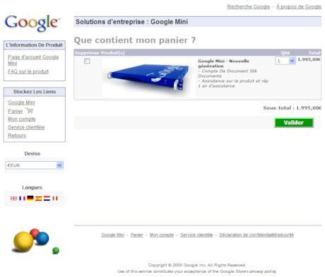 Achetez un lien en dur de PageRank 7 chez Google