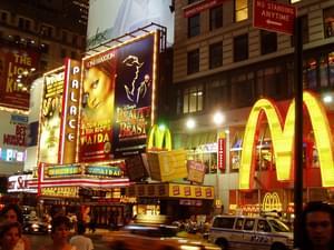 Omniprésence de la publicité dans les rues de New York