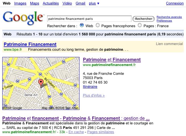 Le commerce de proximité sur Google
