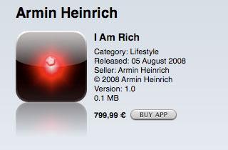 Je suis riche (ou pas)