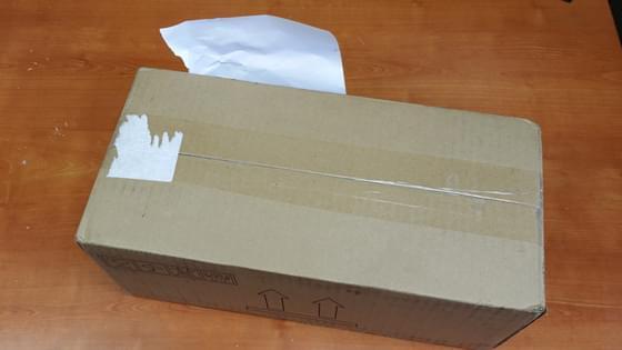 Carton de livraison de Kinect v2 pour Windows