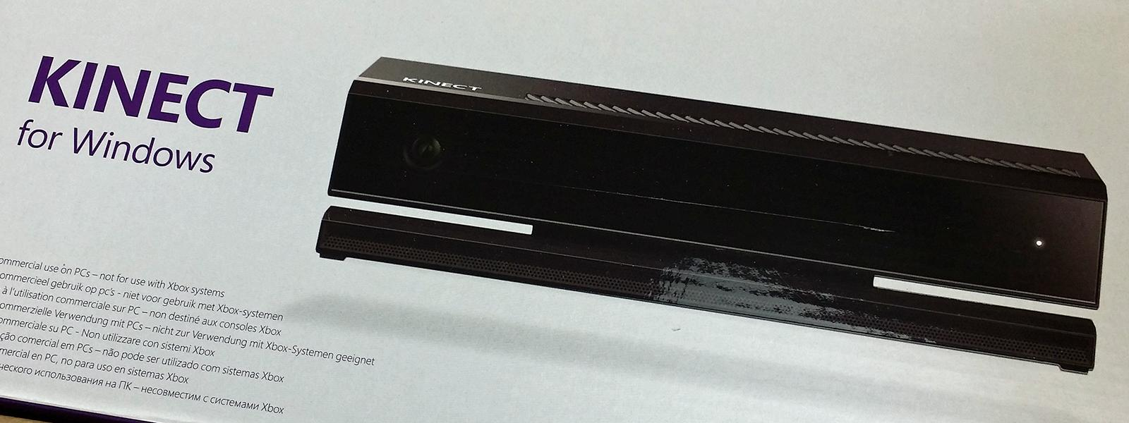 Unboxing de Kinect pour Windows v2