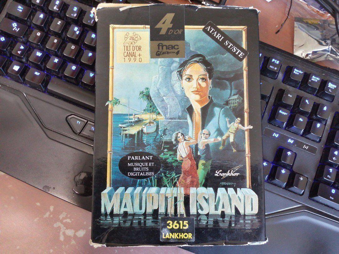 Boîte du jeu vidéo Maupiti Island (Lankhor, Atari ST, 1990)