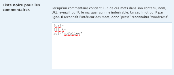 Comment rejeter automatiquement la quasi-totalité du spam de commentaires dans un blog sans un seul faux-positif
