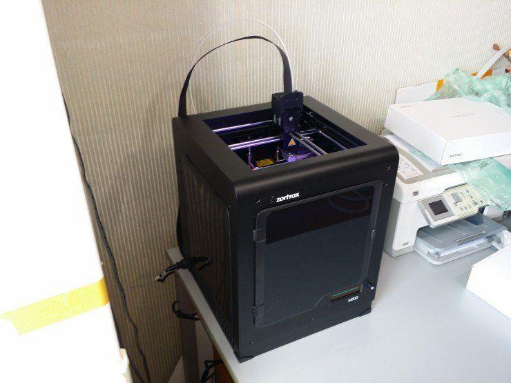 Imprimante Zortrax M200 prête à imprimer