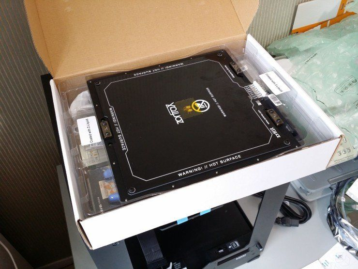 Kit de démarrage et plateau chauffant de l'imprimante Zortrax M200